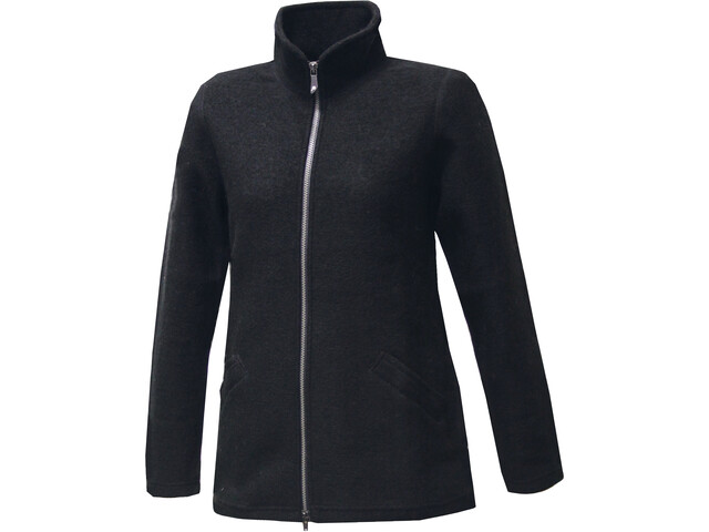 Ivanhoe of Sweden Brodal Long Classic Chaqueta Mujer, black